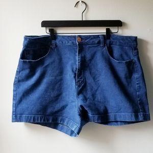 Forever 21 Plus Size Basic Denim Shorts 20